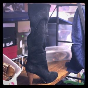 Joie slouchy suede boots 38.5